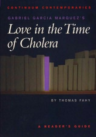 book cover of Gabriel Garcia Marquez\'s Love in the Time of Cholera