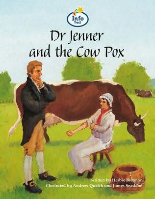book cover of Dr Jenner & the Cowpox