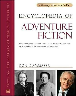 book cover of Encyclopedia of Adventure Fiction