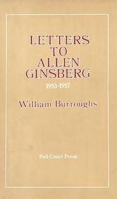 book cover of Letters to Allen Ginsberg, 1953-1957