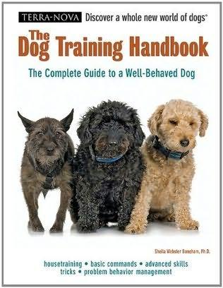 book cover of The Dog Training Handbook