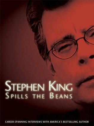 book cover of Stephen King Spills the Beans