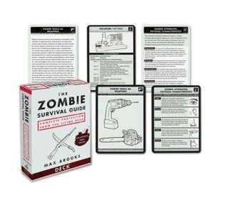 book cover of The Zombie Survival Guide Deck