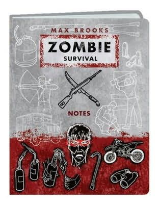 book cover of Zombie Survival Notes Mini Journal