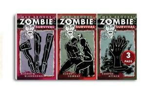 book cover of Zombie Survival Mini Note Pads