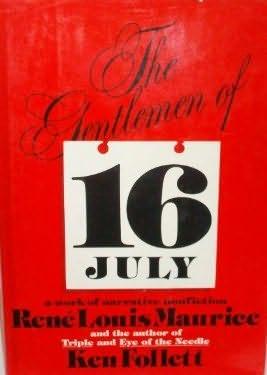 book cover of The Gentlemen of 16 July